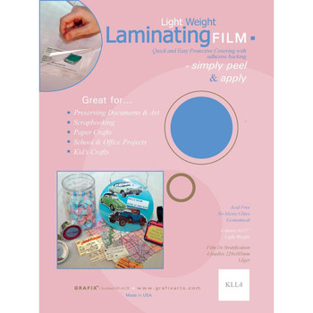 """Grafix Laminating Film 9""""x12"""""""