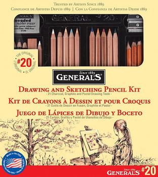 General's Drawing & Sketching Kit #20