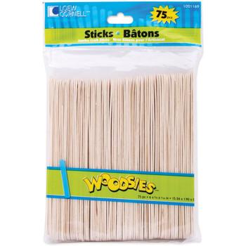 """Woodsies Jumbo Craft Sticks 6"""""""