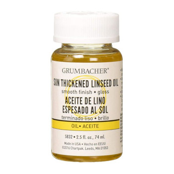 Grumbacher Sun-Thickened Linseed Oil