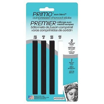 Primo Compressed Charcoal Set