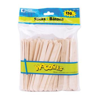 "Woodsies Craft Sticks 4.5"""