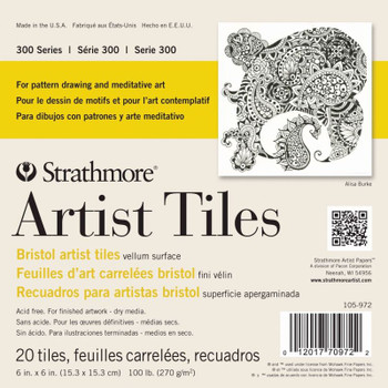 Strathmore Bristol Artists' Tiles Pad