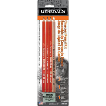 General's Charcoal Pencil Kit