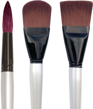 Simply Simmons XL Stiff Synthetic Brushes