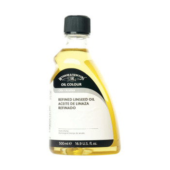 W&N Refined Linseed Oil