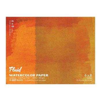 Fluid Watercolor Paper Blocks, Cold Press