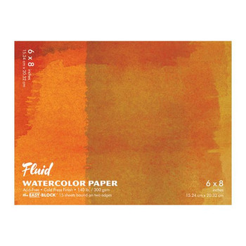 Fluid Watercolor Paper Blocks, Cold Press