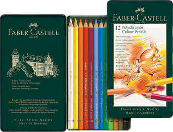 Polychromos Colored Pencil Set of 12