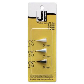 Jacquard Plastic Tip Variety Pack