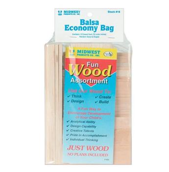 Wood Economy Bags Balsawood