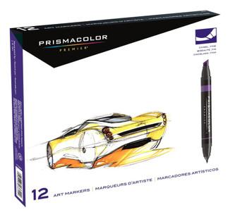 Prismacolor Premier Marker Set, 12 colors