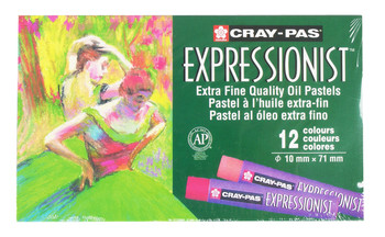 Expressionist Oil Pastel Set of 12