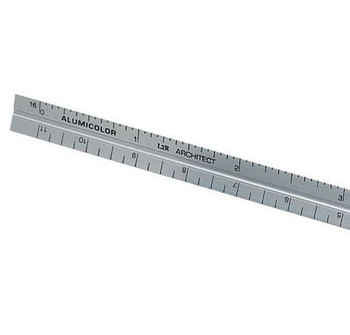 "6"" Architect's Pocket Scale"