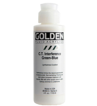 Golden Interference Fluid Acrylics 4oz.