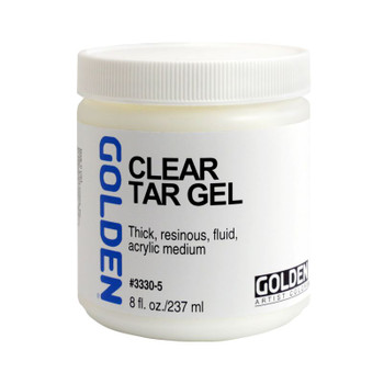 Golden Clear Tar Gel Medium