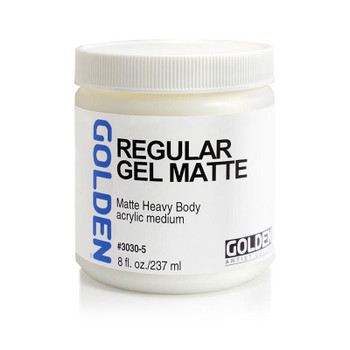 Golden Regular Gel Medium