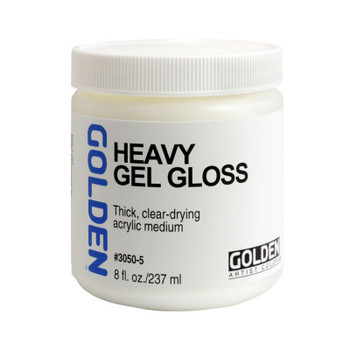 Golden Heavy Gel Mediums