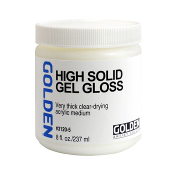 Golden High Solid Gel Gloss Medium