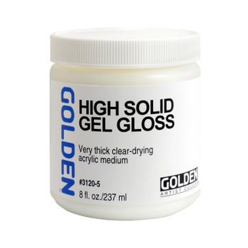 Golden High Solid Gel Gloss Medium