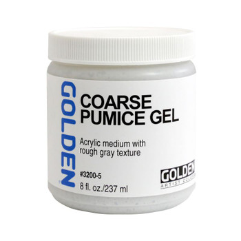 Golden Pumice Gel Medium