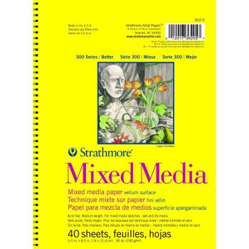 Strathmore 300 Series Mixed Media Pads