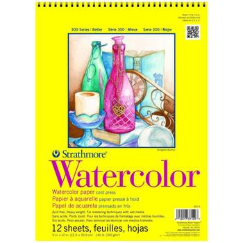 Strathmore 300 Series Watercolor Pads