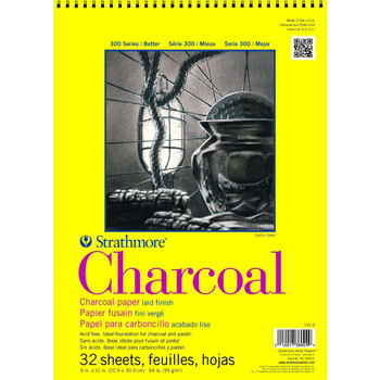 Strathmore 300 Series Charcoal Pads