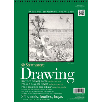 Strathmore 400 Series Recycled Drawing Pads