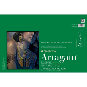 Strathmore Artagain Black Drawing Pad
