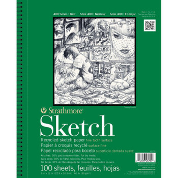 Strathmore 400 Recycled Sketch Pads