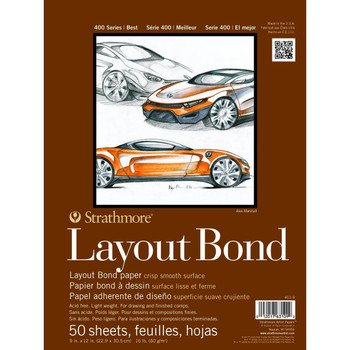 Strathmore 400 Layout Bond Pads