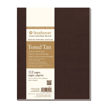 Strathmore Softcover Toned  Tan Art Journal