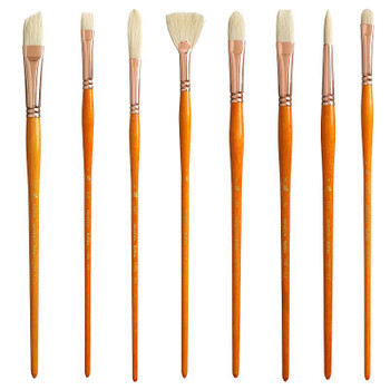 Princeton 5400 Natural Bristle Brushes