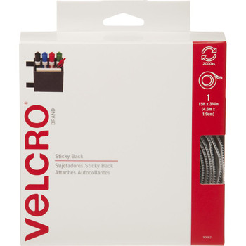 Velcro Sticky Back Roll, 15'