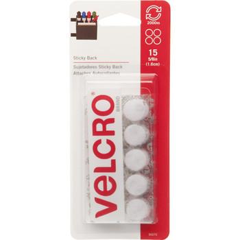 Velcro Sticky Back Coins 5/8