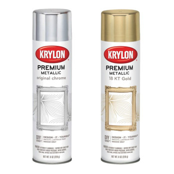 Premium Metallic Spray Paint