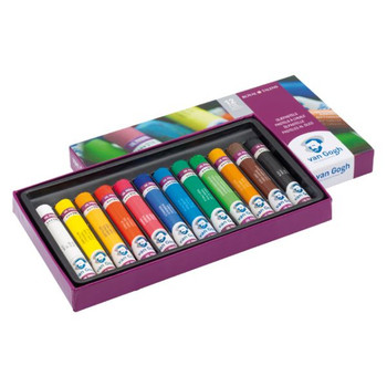 Van Gogh Oil Pastel Set,  12 Colors
