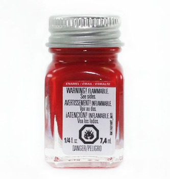 Testors Enamel Paints Red