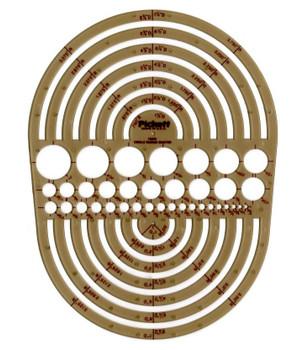 Circle Radius Master Template