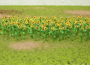 Wee Scapes Sunflowers, 8 pack