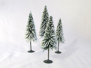Wee Scapes Scenic Snow Spruce Trees