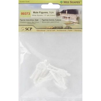 "Mini Male Figures 1/4"", 5 pack"