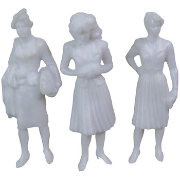 "1/8"" Female Figures"