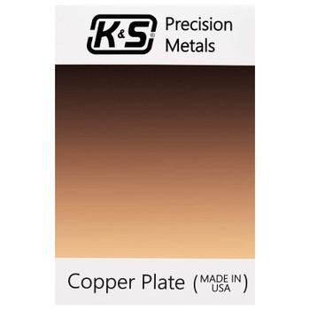K&S Copper Etching Plates, 16 Gauge