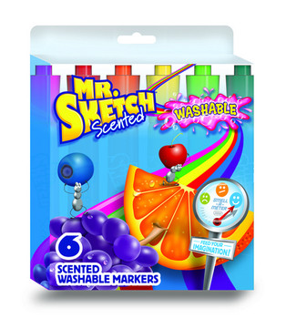 Mr. Sketch Scented Markers Set of 6