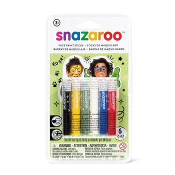 Snazaroo Face Painting Stick Set