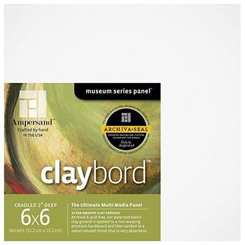 Claybord Multi Media Panels, Mini Packs