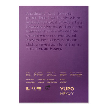 Yupo White Pads, Heavy Weight