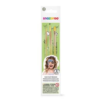 Snazaroo Face Painting Brush Set